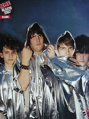 Klaxons - Magazine Cutting (Full Page Photo) (Ref H5A)
