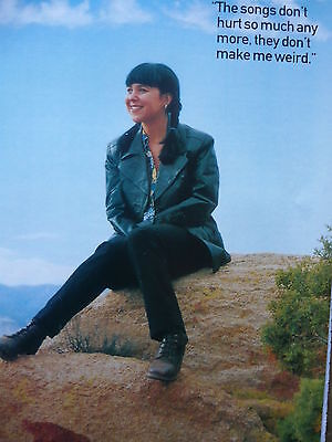 Kristin Hersh - Magazine Cutting (Full Page Photo) (Ref E)
