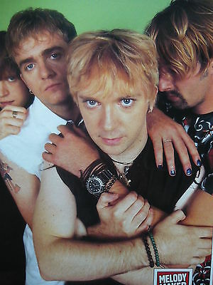 Mansun - Magazine Cutting (Full Page Photo) (Ref Jd)