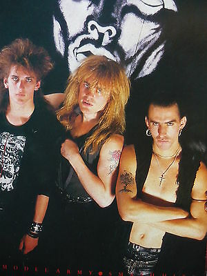 New Model Army - Magazine Cutting (Full Page Photo) (Ref K)