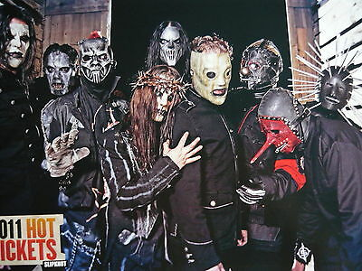 Slipknot - Magazine Cutting (Full Page Photo) (Ref B6)