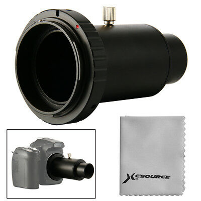 """Telescope Camera Adapter 1.25"""" Extension Tube T Ring for Canon EOS Metal DC618"""