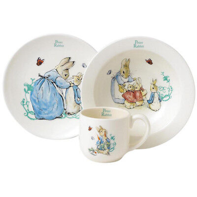 Beatrix Potter Peter Rabbit 3 Piece Nursery Set