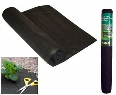 4 X Rolls Of Weed Control Fabric Membrane Ground Cover Sheet Garden Landscape