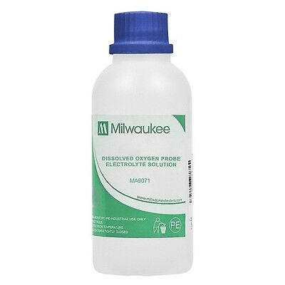 Milwaukee MA9071 Electrolyte Solution for DO Probes 230 ml Dissolved Oxygen