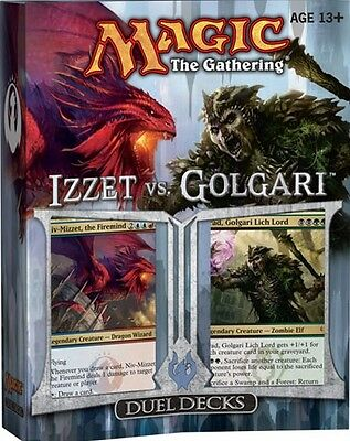 MTG; Izzet Vs. Golgari Duel Decks Factory Sealed