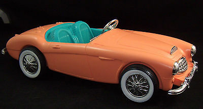 Vintage Barbie Doll Austin Healey Roadster Convertible Car Auto Irwin Mattel '62