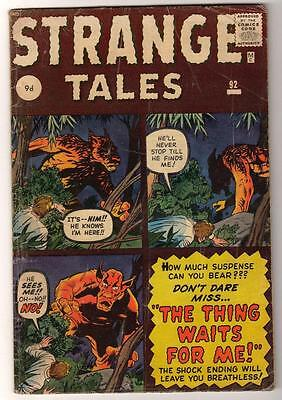 Marvel Strange Tales 92  Kirby Ditko  Fn+  5.5 Thing Waits For Me