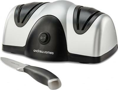 Andrew James Professional Electric Knife Sharpener Scissor Honer 2 Stage Grinder