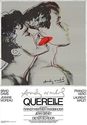 Querelle (Grey) by Andy Warhol 1982 Poster Art Print Gray