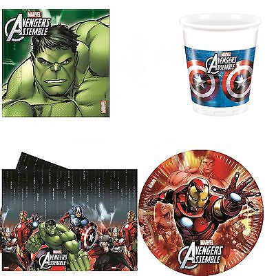 AVENGERS ASSEMBLE MULTI HERO Birthday Party Supplies Tableware Decoration Banner