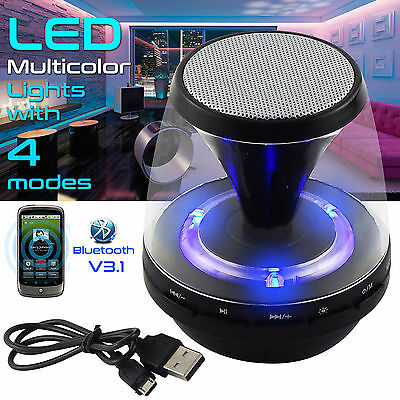Wireless Portable Bluetooth Stereo Speaker MP3 Support FM TF for iPhone iPad New