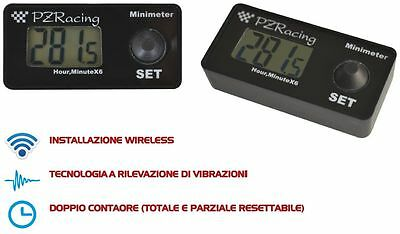 Mm200 Minimeter Contaore Wireless Pzracing Hourcounter Cross Pit Bike  Motard