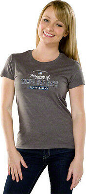Tampa Bay Rays Authentic T-shirt 1XL Ladies Majestic Athletics MLB Sexy
