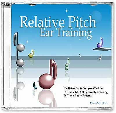 Passive Relative Pitch Music Ear Training, Audio CD Theory Interval Perfect Skil