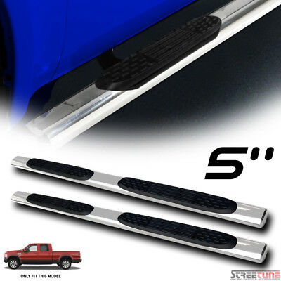 """5"""" Stainless Side Step Nerf Bars Running Board For 99-16 Ford F250/F350 Crew Cab"""