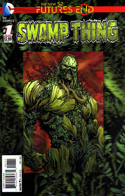 Swamp Thing Futures End  #1 (NM) `14 Soule/ Saiz (3D Cover)