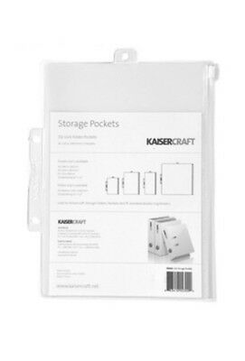 A5 Kaisercraft Scrapbooking Storage Pocket x 5