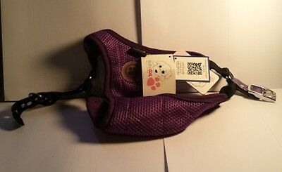 "FouFou Dog Founess Classic Harness Purple  XX-Large 16"" to 18"" Neck 18"" Length"