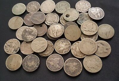 ✯ Old U.S. Flying Eagle Cent CULL Coins Rare Historic Money ✯ 1857-1858 ✯ 1 COIN