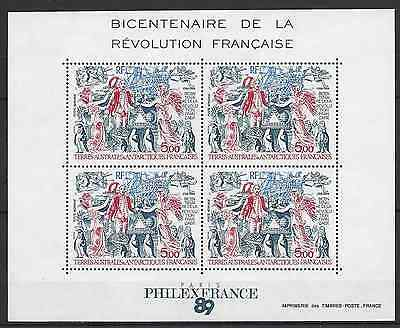 France Taaf Pa N°108 Bloc Feuillet N°1 Neuf ** Luxe Gomme D'origine Mnh