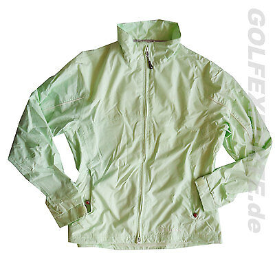 SUNICE Women's Typhoon Wind- & Regenjacke, Full-Zip lite mint-green ultraleicht