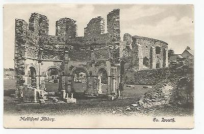 irish postcard ireland louth mellifont abbey