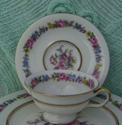 Castleton China Manor Cup & Saucer Sets  12 Available