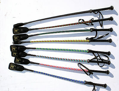 Gee Tac Rugs  2  Flexi Horse Riding Crops  Multi Colour Whips Medium