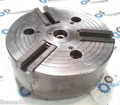 "Howa 10"" 3 Jaw Cnc Lathe Power Chuck W/ Plain Back Mount"