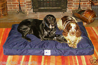 Gee Tac Waterproof Dog Bed Quality Washable Hard Wearing  Heavy Fill Pet Pillow