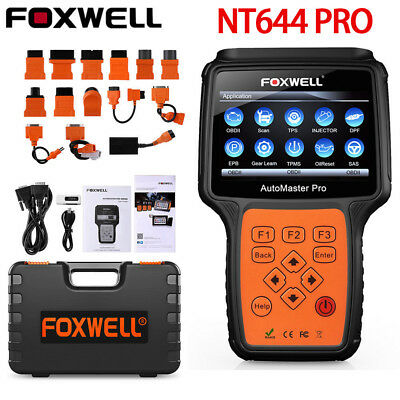 Ancel X5 Diagnostic Tool Tablet ABS EPB Airbag DPF Reset Full System OBD2 Scanne