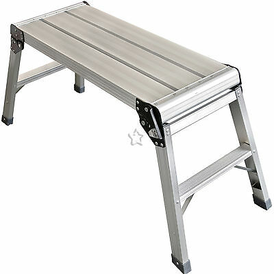 Step Platform Full Size 70cm Work Plate Ladder Bench Decorators Hop up EN131