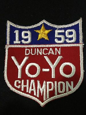 1959 Duncan Yo-Yo Champion Patch