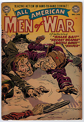 All-American Men Of War #2 2.5 Tan Pages Golden Age