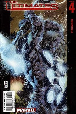 Ultimates #4 (NM)`02 Miller/ Hitch