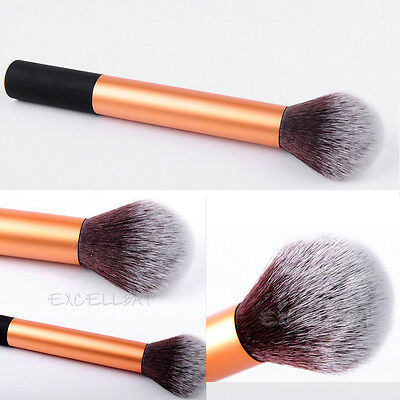 Pro Makeup Cosmetic Tool Soft Kabuki Contour Face Powder Foundation Blush Brush