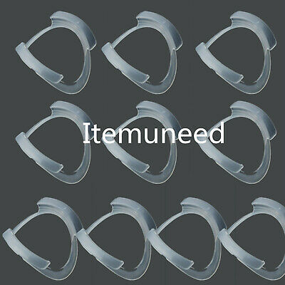 UK 10x Dental Teeth Whitening Cheek Retractor Mouth Opener O-shape White Color