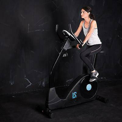 Fitness Heimtrainer Fahrrad Speed Indoor Blau Home-Trainer Ergometer Trimmrad