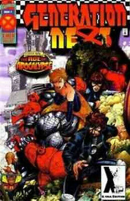Generation Next #1-4 Vf / Nm Complete Set 1995 Age Of Apocalypse #1 Is Variant