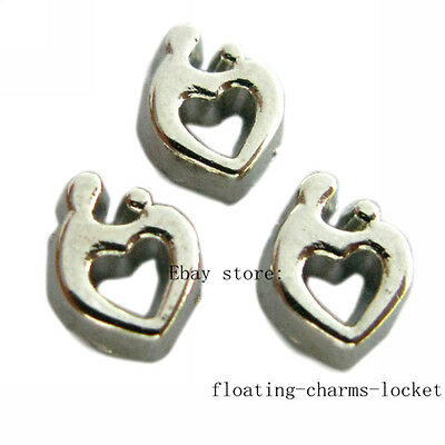10pcs mother and child  Floating Charms for Memory Glass Locket FC849