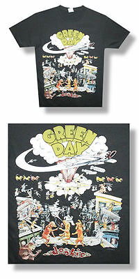 Green Day- NEW Dookie Dogs LIGHTWEIGHT GRAY T Shirt- 2XLarge FREE SHIP TO U.S.!