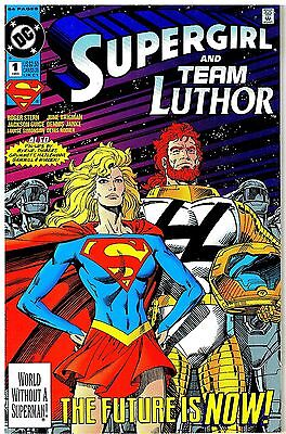 Supergirl and Team Luthor No.1 / 1993 Jackson Guice