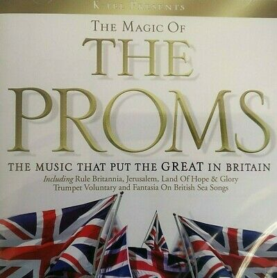NEW - MAGIC OF THE PROMS - Royal Philharmonic Orchestra Music CD Classical Album
