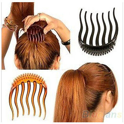 Popular Volume Inserts Hair Clip Bumpits Bouffant Ponytail Hair Comb