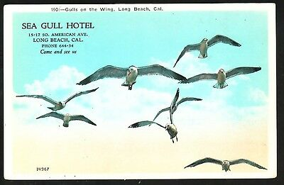 SEA GULL HOTEL, LONG BEACH, CAL. - 1920's