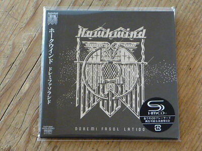 Hawkwind: Doremi Fasol Latido SHM CD Japan Mini-LP TOCP-95061 SS (hawklords Q