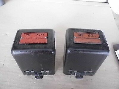 PR Silver Marshall 221 Output Transformers for Tube Amp