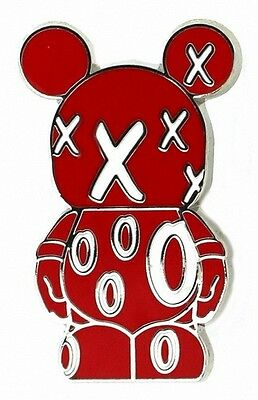 2012 Disney Vinylmation Jr #5 X's and O's Pin