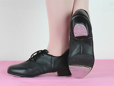 Split sole Lace up tap dance shoes -- Paul Wright performance tap